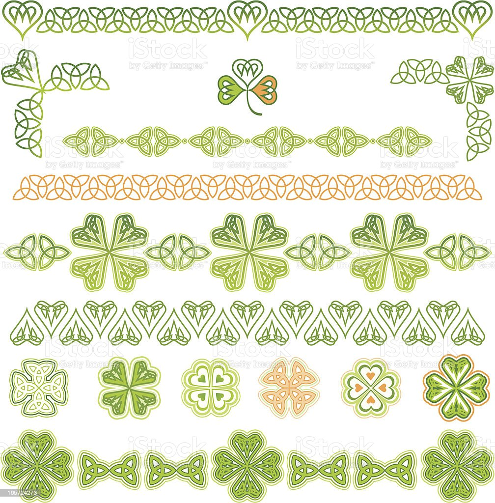 Design Element for St. Patrick's Day royalty-free design element for st patricks day stock vector art & more images of abstract