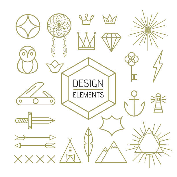 Xna Line Drawing : Royalty free teepee clip art vector images