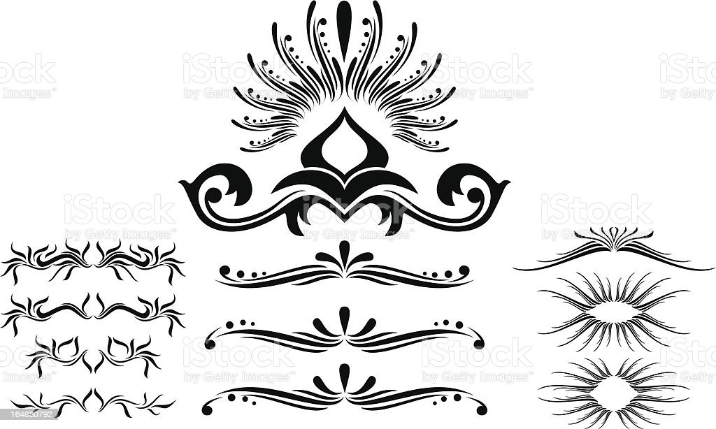 Design element, vector royalty-free stock vector art