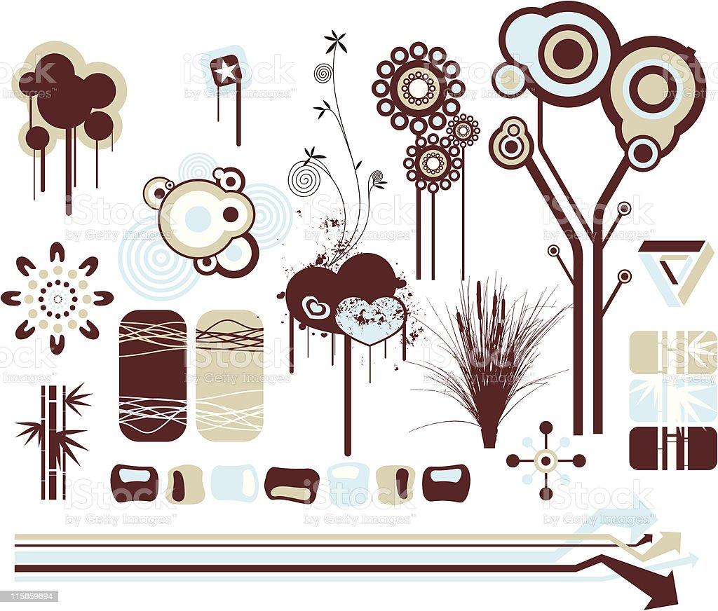 Design Elements 5 royalty-free stock vector art