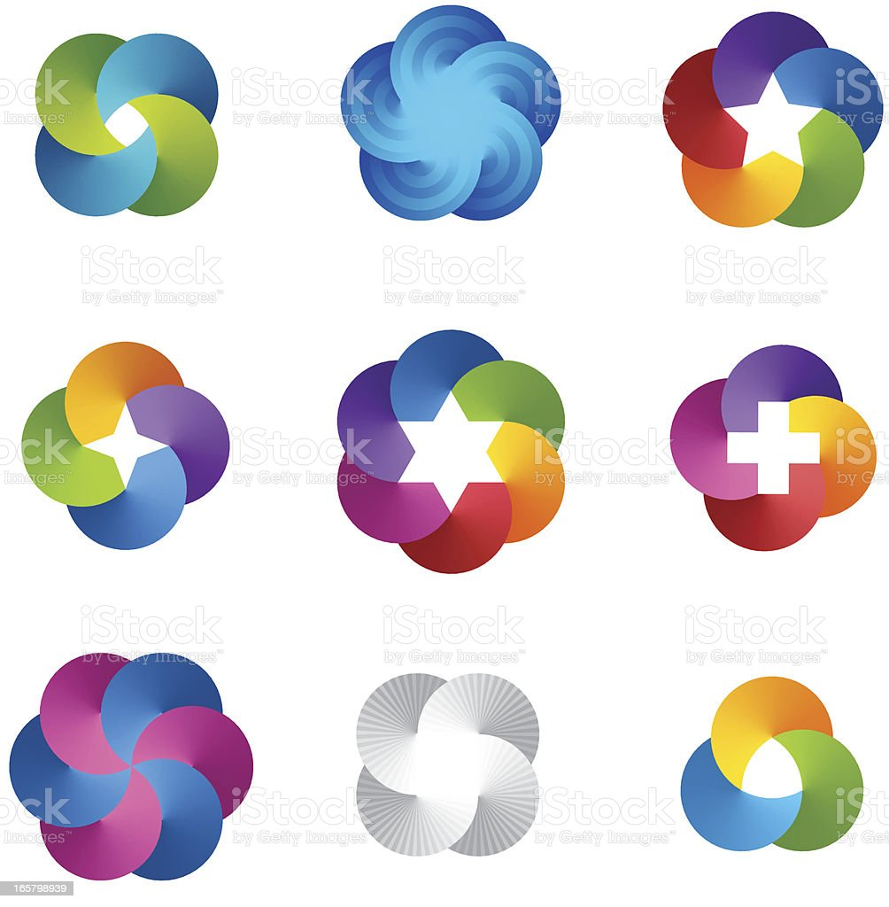 Design Elements | abstract symbols royalty-free stock vector art