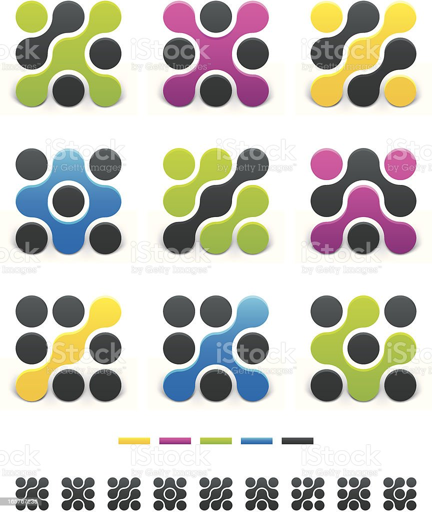 Design Elements - Abstract Vol 3 royalty-free stock vector art