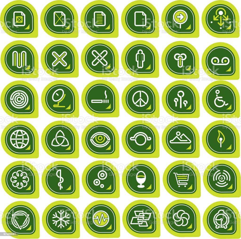 Design Elements 'Icons' royalty-free design elements icons stock vector art & more images of adult