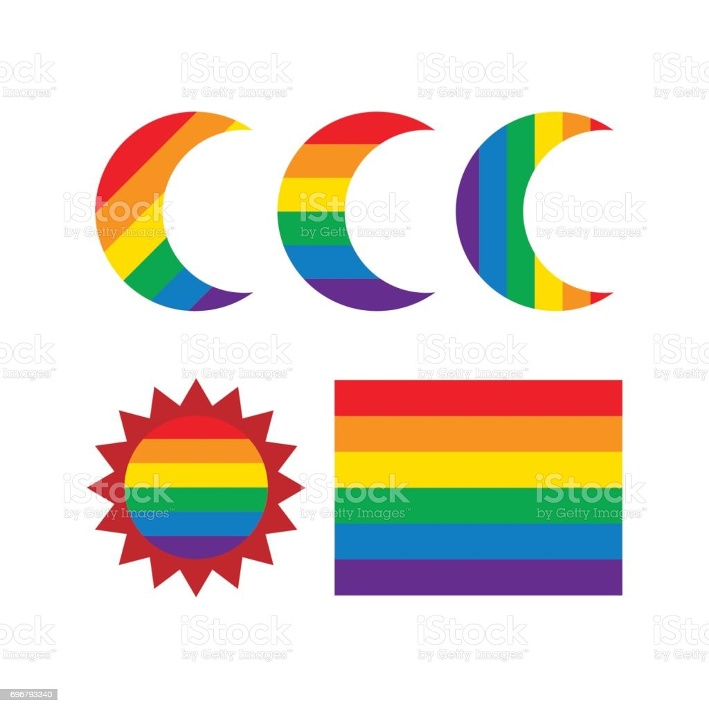 Design elements rainbow moon and sun shape stock vector art more design elements rainbow moon and sun shape royalty free design elements rainbow moon and sun biocorpaavc Images