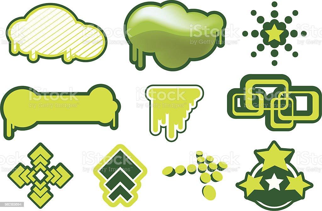 디자인 요소 세트 2 royalty-free 디자인 요소 세트 2 0명에 대한 스톡 벡터 아트 및 기타 이미지