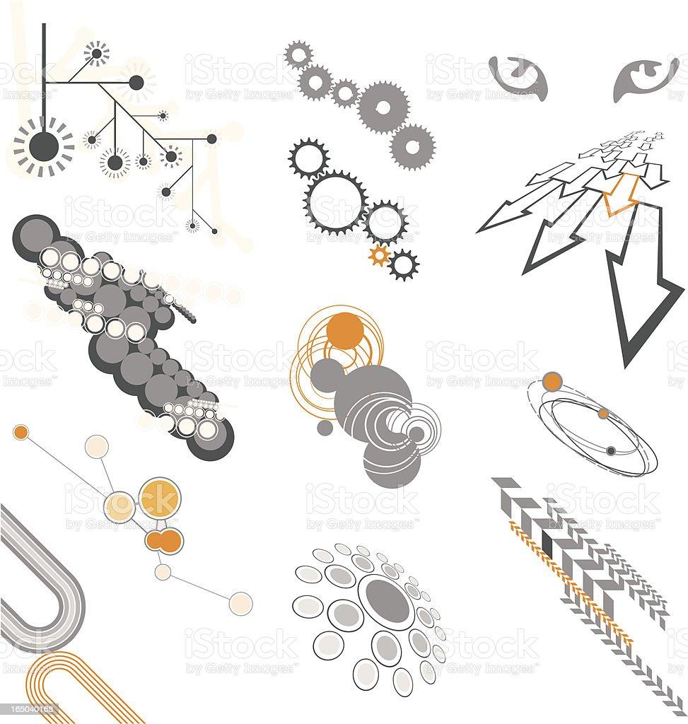 Design Elements Set, icons, symbols, geometric shapes royalty-free design elements set icons symbols geometric shapes stock vector art & more images of acute angle