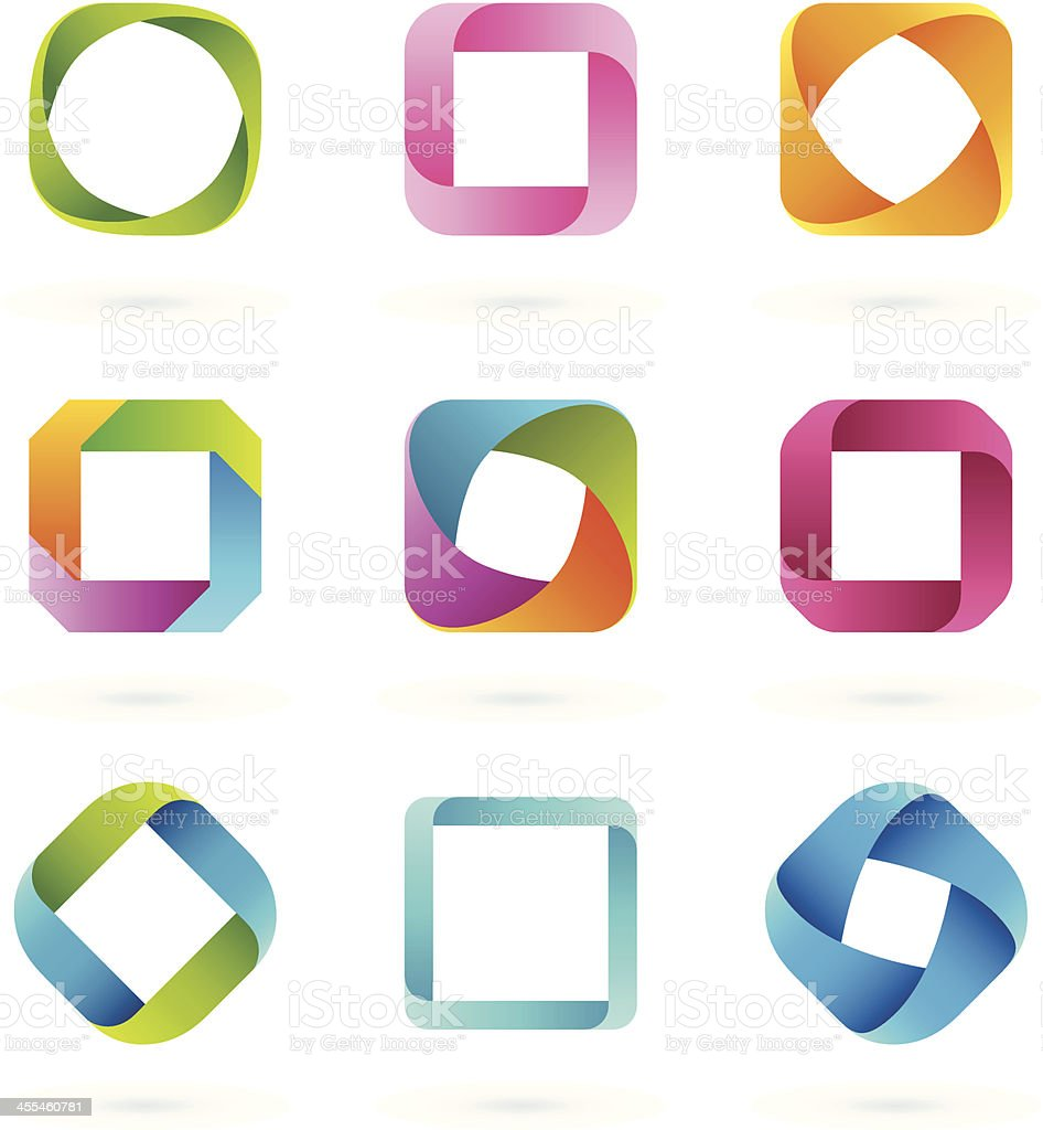 Design Elements | SQUARE vector art illustration