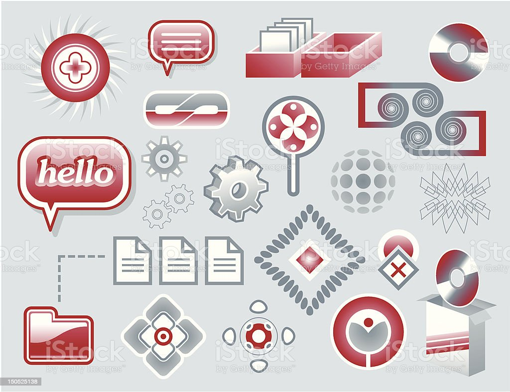 design elements royalty-free design elements stock vector art & more images of box - container