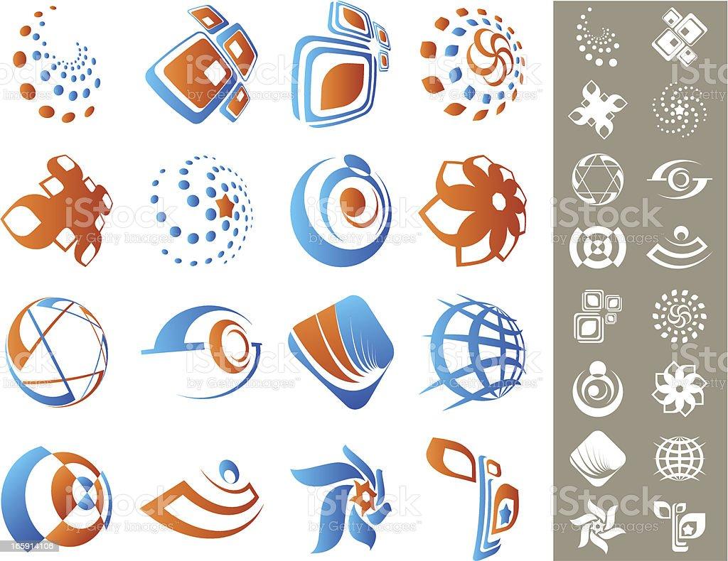 Design elements. royalty-free stock vector art