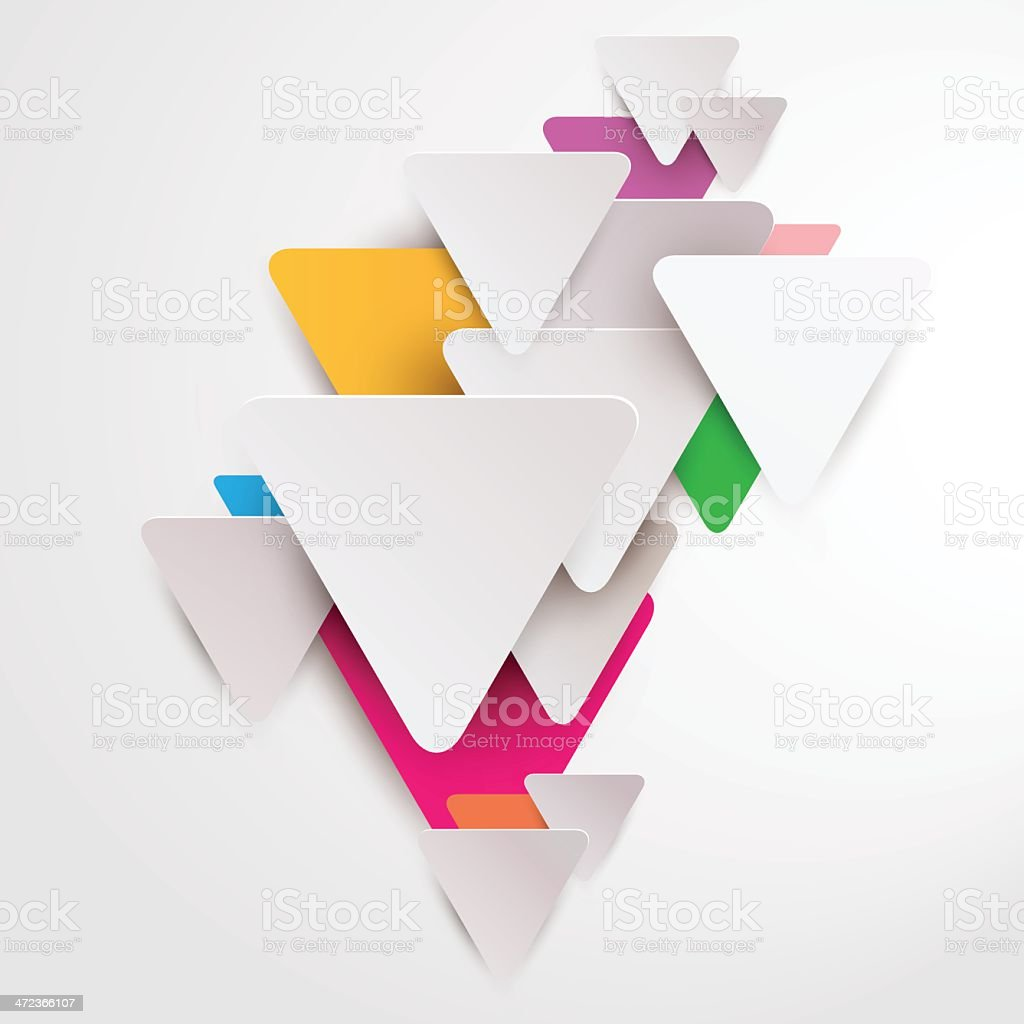 3D Design Elements vector art illustration