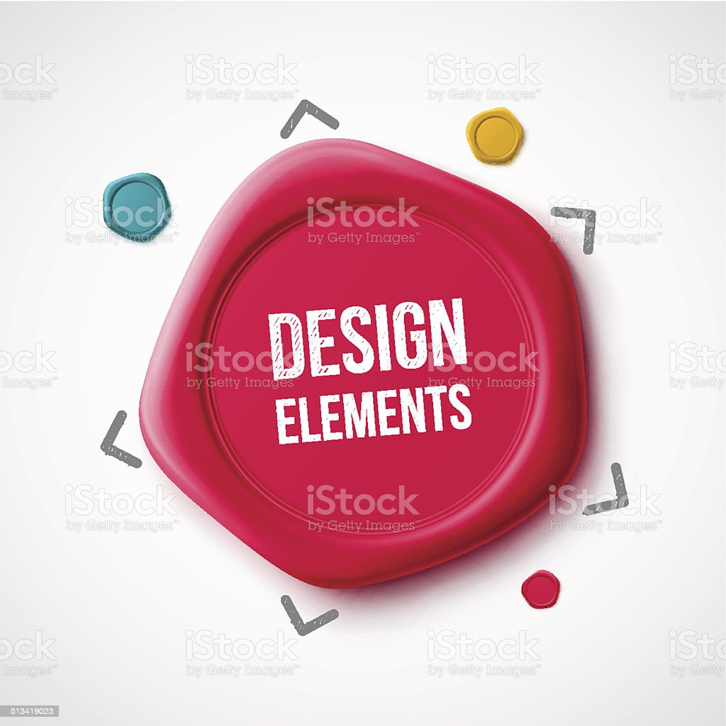 Design Elements vector art illustration