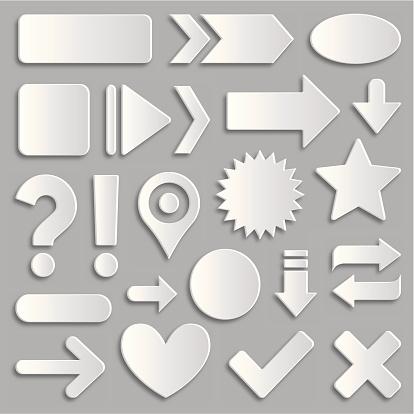 Design elements. EPS10. Contains transparent objects.