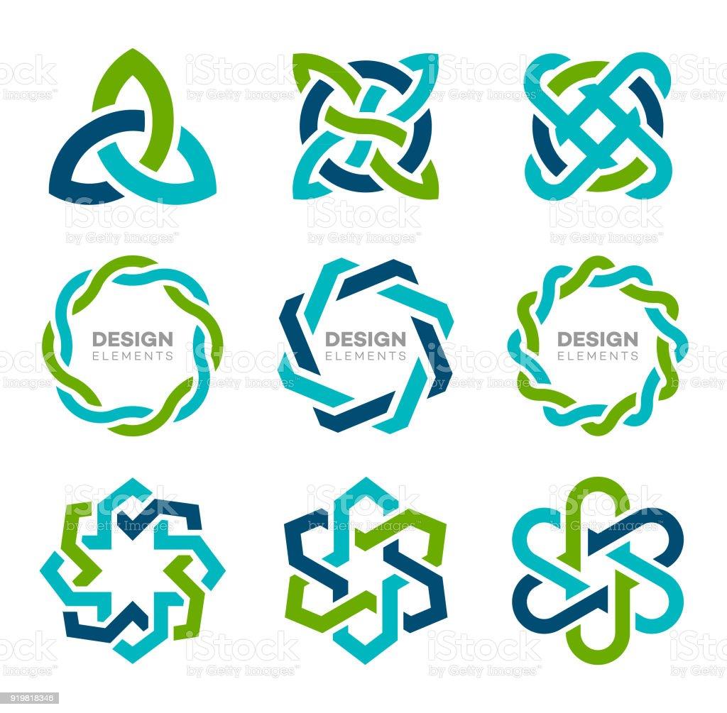 Eléments de Design - Illustration vectorielle