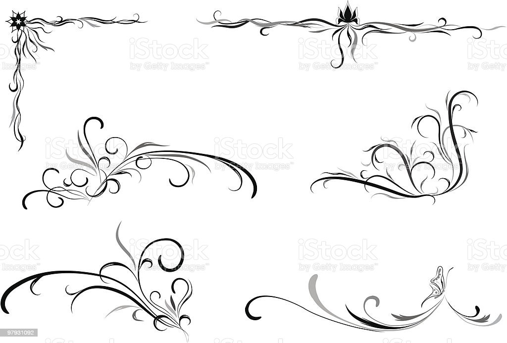 Design elements royalty-free design elements stock vector art & more images of angle