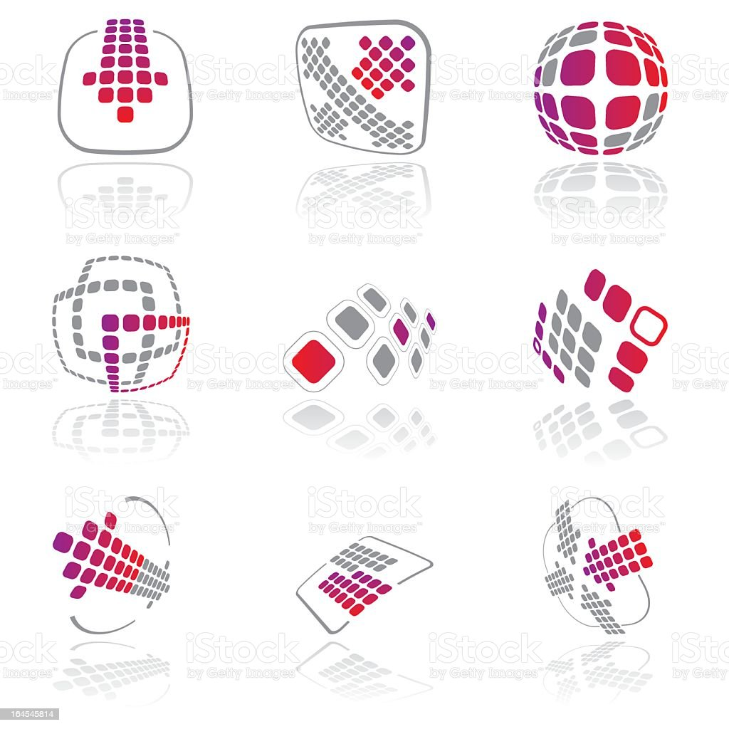 Design elements - vol 12 royalty-free stock vector art