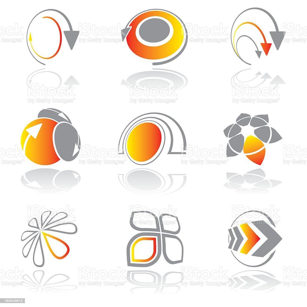Design elements - vol 13 royalty-free stock vector art