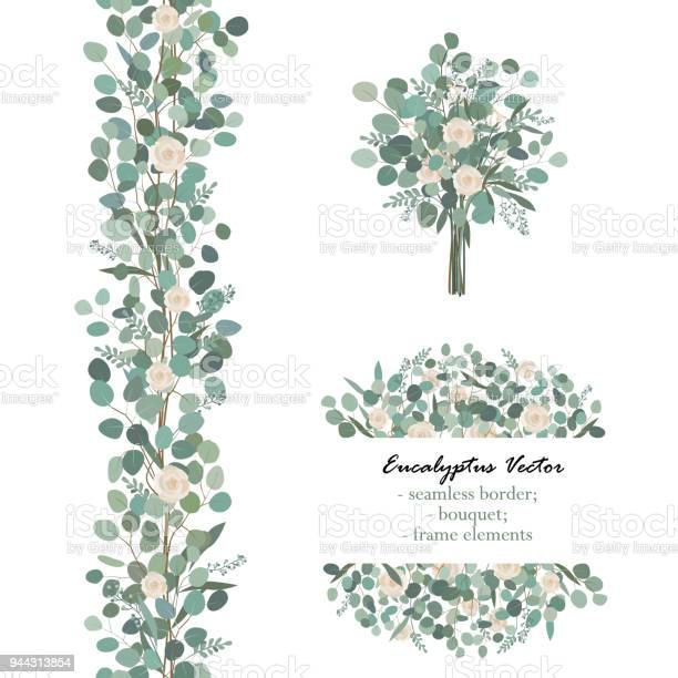 Design elements with white rose flowers and eucalyptus branches vector id944313854?b=1&k=6&m=944313854&s=612x612&h=zqdp5wrw7icimci ncpojrisdbjzyhqavdzas89kntu=