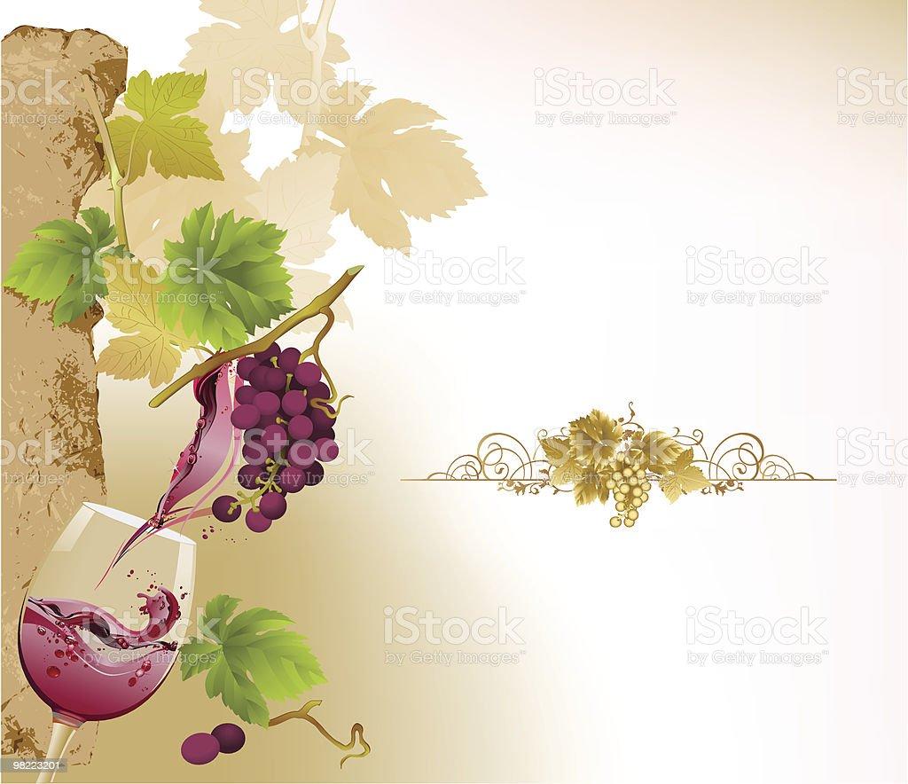 Design per carta dei vini. design per carta dei vini - immagini vettoriali stock e altre immagini di alchol royalty-free