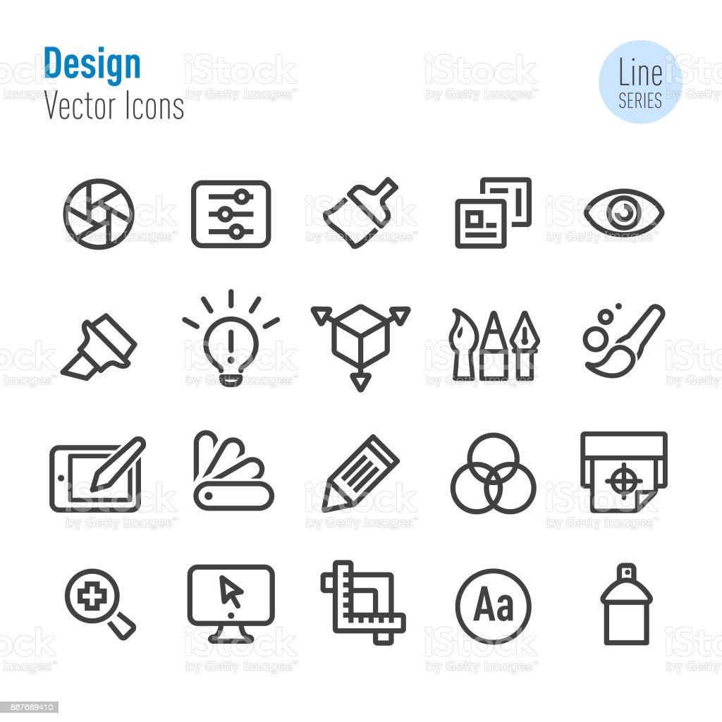 Design Icons - Vector Line Series vector art illustration