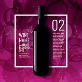 Design idea for presentation of wine bottles