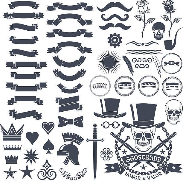 design in vintage style – Vektorgrafik