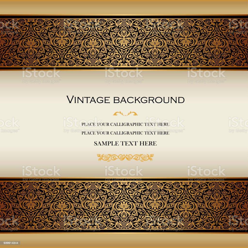design layout wedding luxury menu ornament template certificate