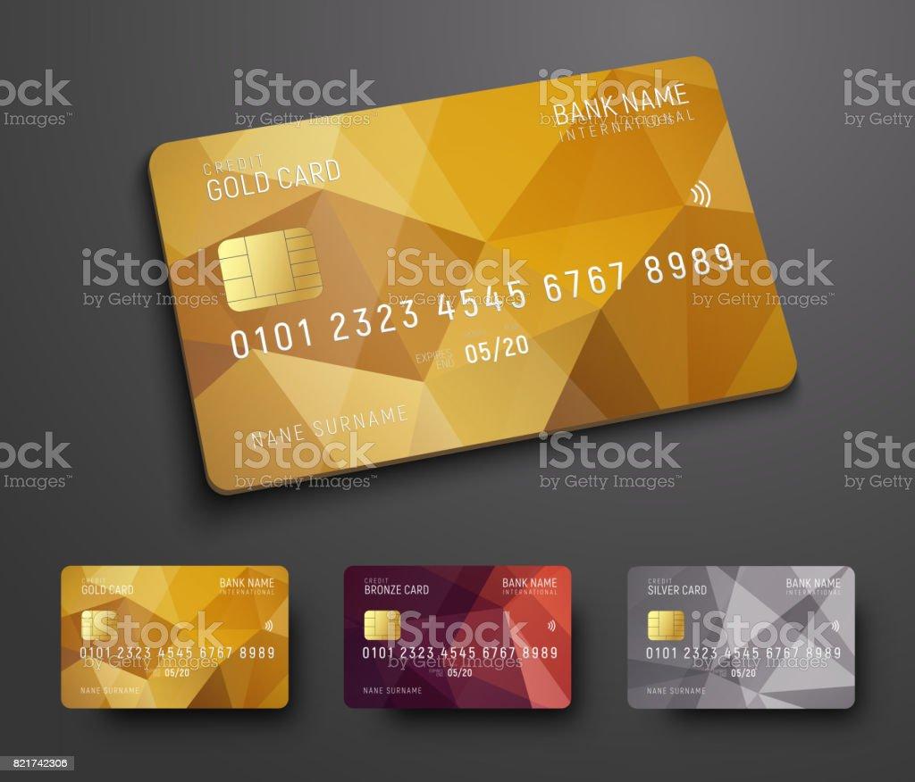 Carte Bancaire Avec Argent.Conception Dune Carte Bancaire De Credit Avec Un Fond
