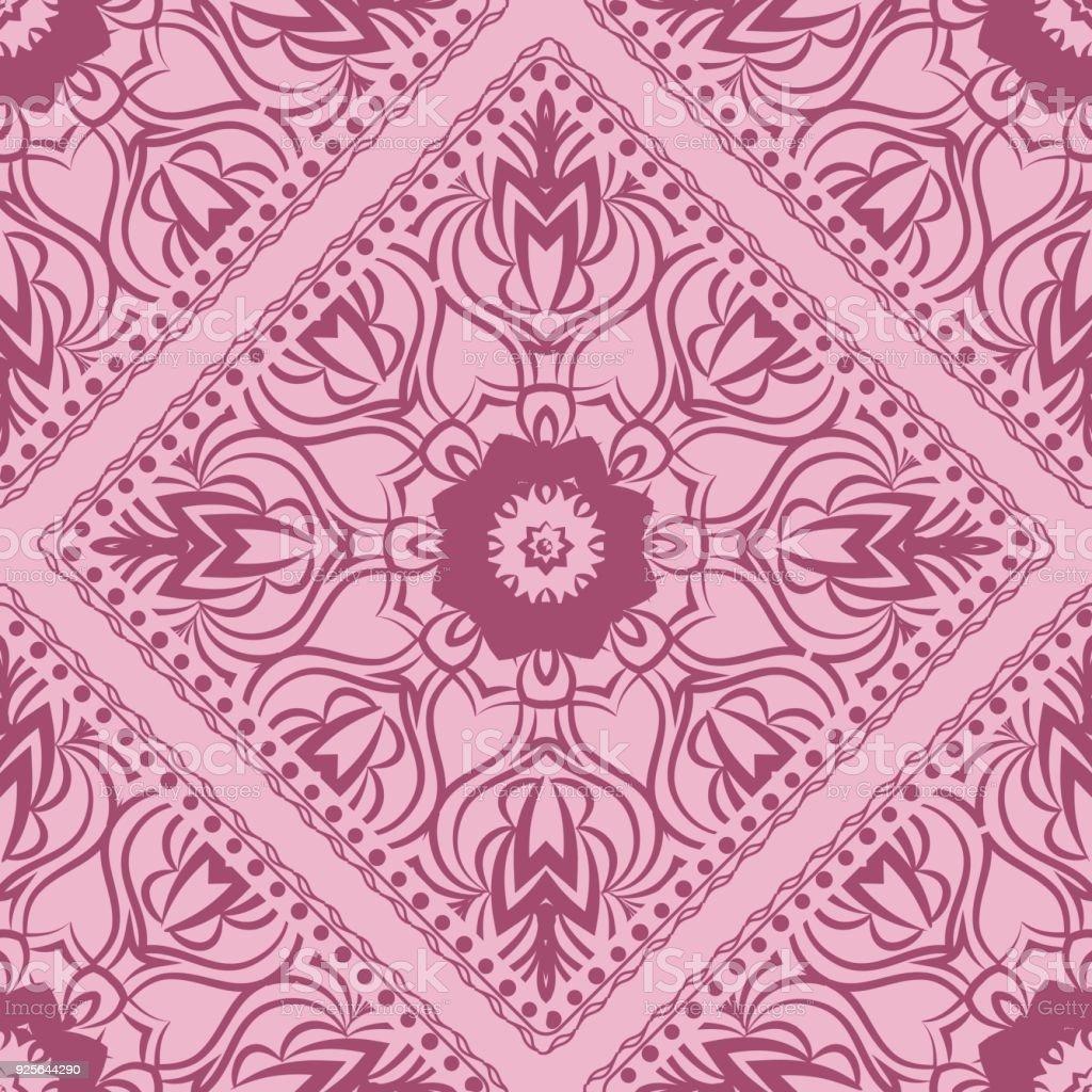 Ilustración de Diseño De Una Bufanda Con Un Patrón Geométrico De La ...