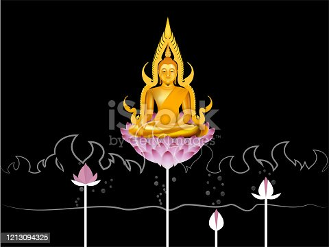 design of buddha,nirvana concept design in Buddhism