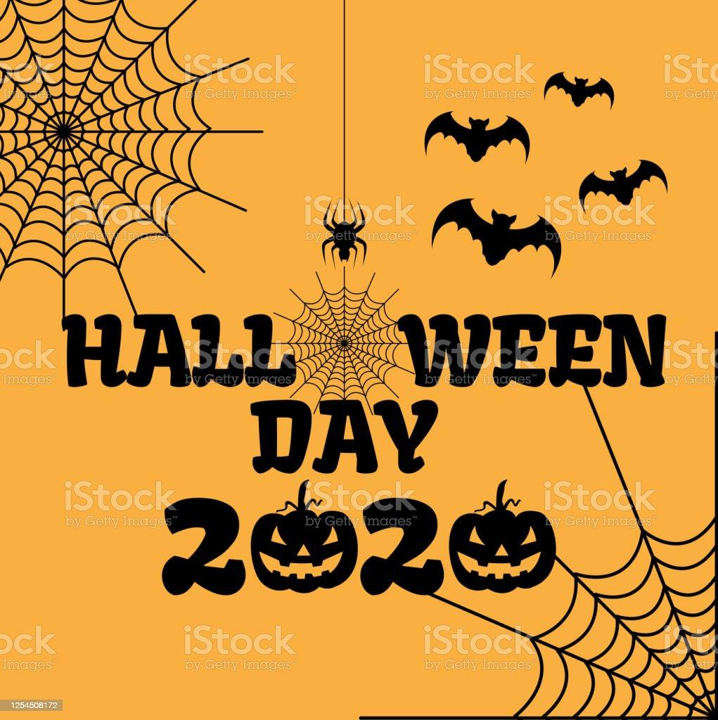 Halloween 2020 Torrentr Design Of Happy Halloween 2020 Text For Halloween Day Stock