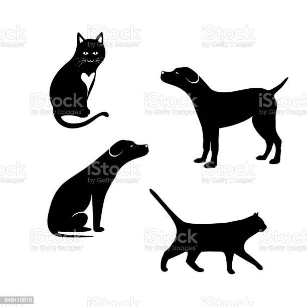 Design of silhouette pets vector id948410816?b=1&k=6&m=948410816&s=612x612&h=zeytncs07rnzuc q2edkrzwl5gf2wc9lzp pvavolve=