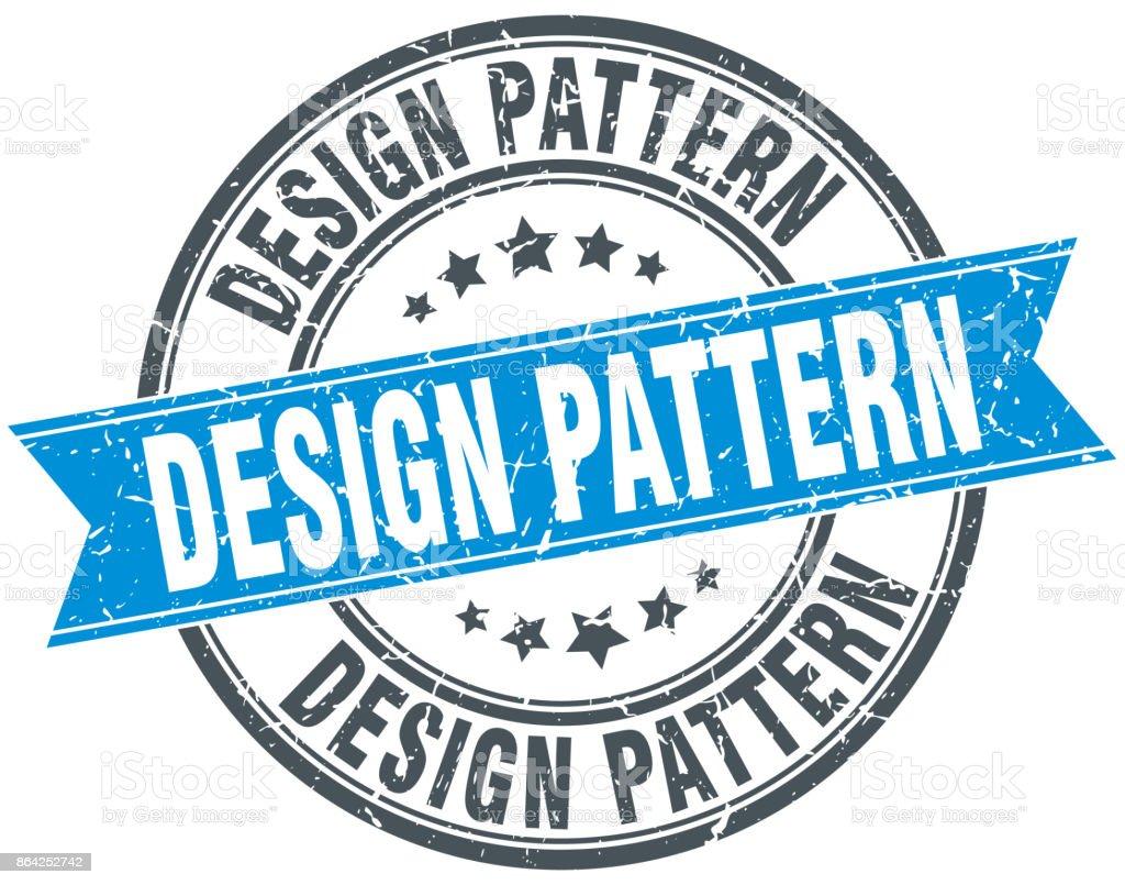 design pattern round grunge ribbon stamp royalty-free design pattern round grunge ribbon stamp stock vector art & more images of award ribbon