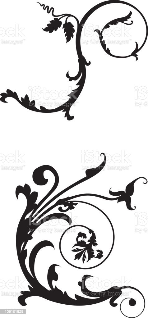 Design Scroll royalty-free design scroll stock vector art & more images of baroque style