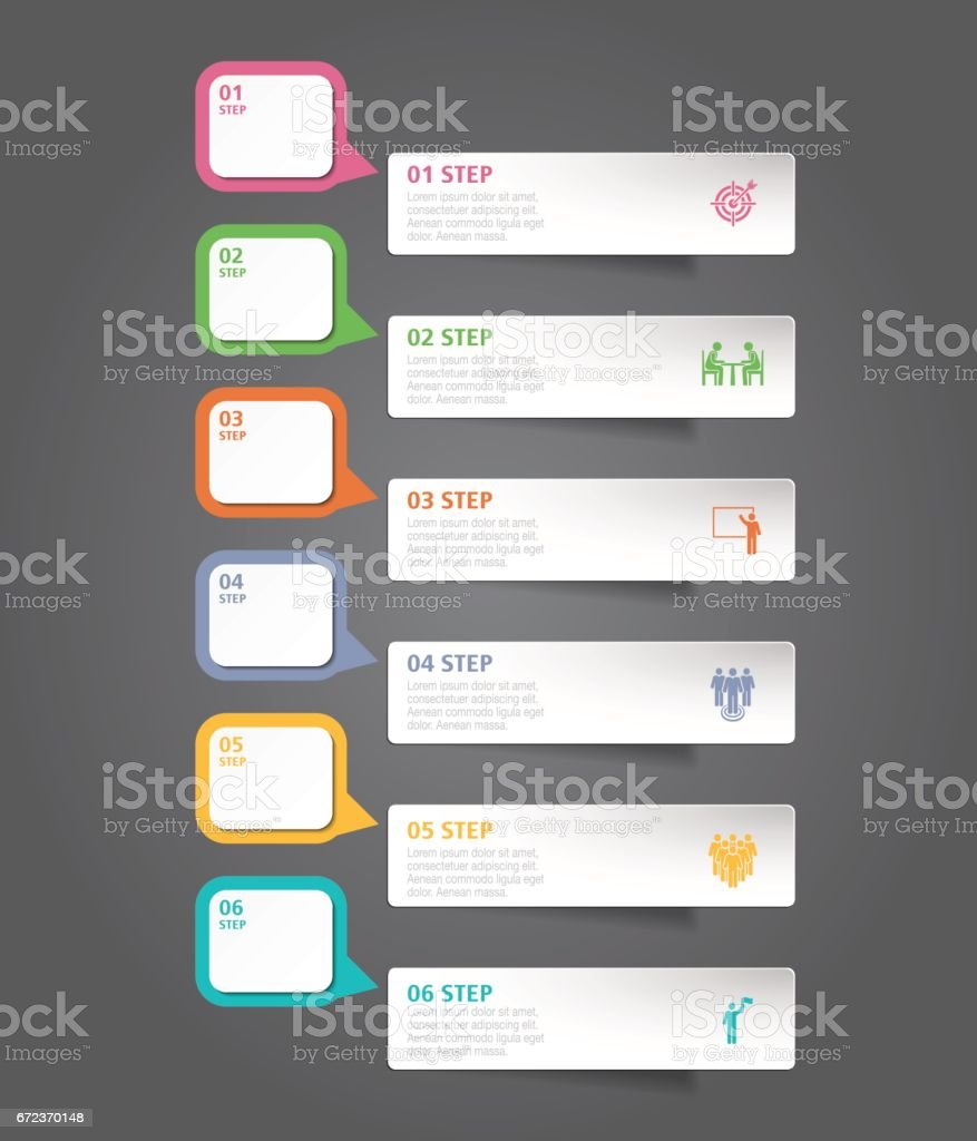Design Template And Marketing Icons Can Be Used For Infographic ...