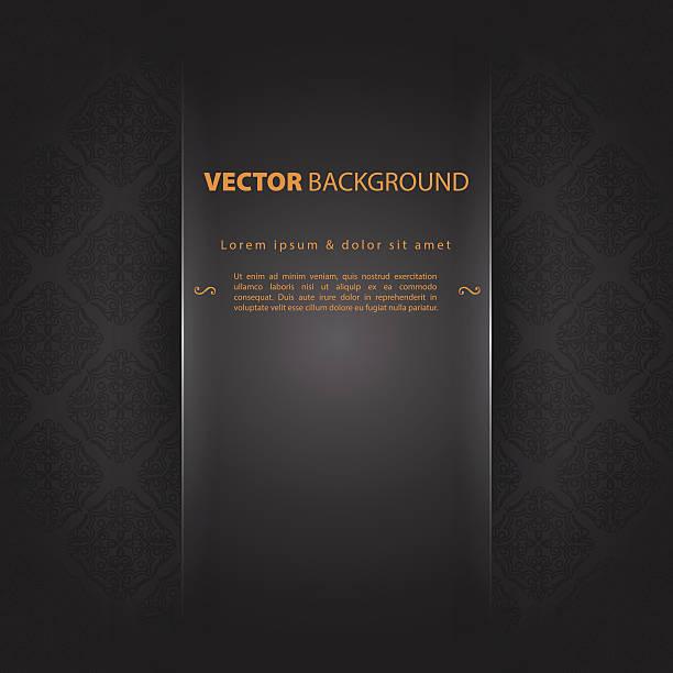 design template back - black tie events stock illustrations, clip art, cartoons, & icons