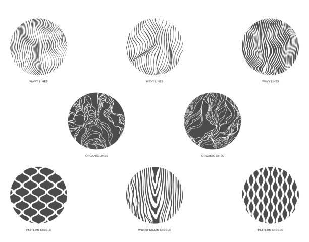 ilustrações, clipart, desenhos animados e ícones de modelo de design. - textura de madeira