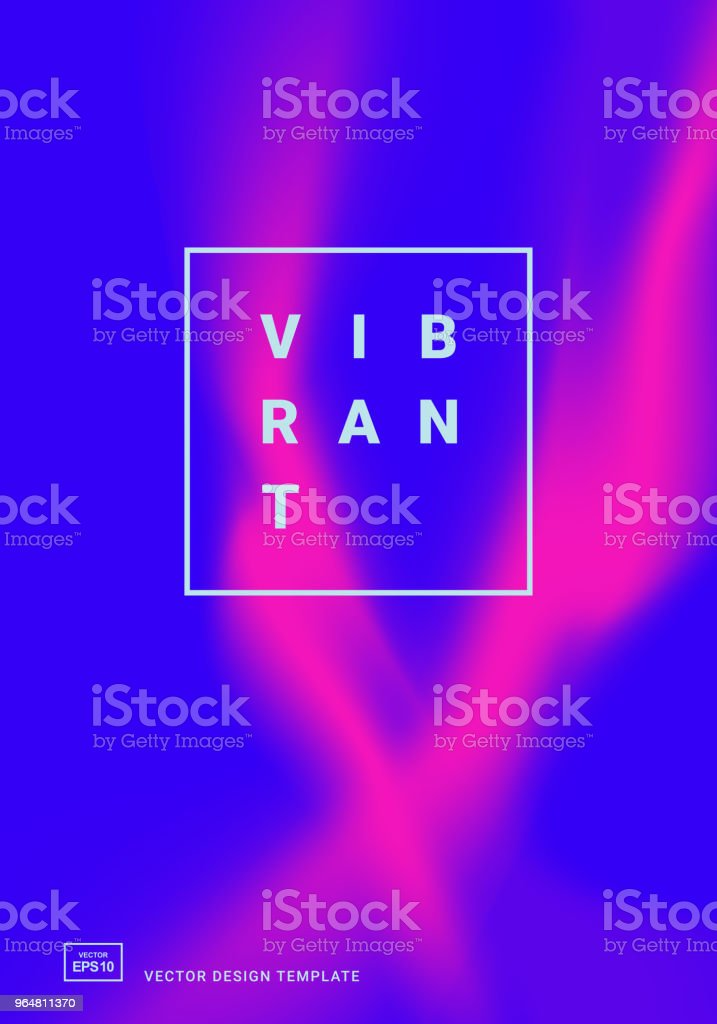 design template with vibrant gradient shapes royalty-free design template with vibrant gradient shapes stock vector art & more images of abstract