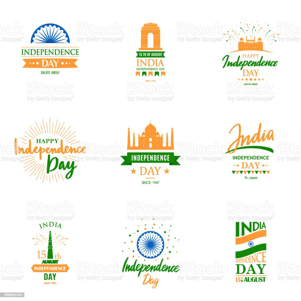 Design templates set for independence day of india15th august design templates set for independence day of india15th august greeting cards collection m4hsunfo