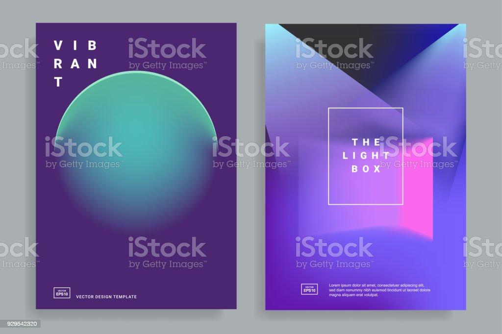 modèles de conception avec gradient dynamique modèles de conception avec gradient dynamique vecteurs libres de droits et plus d'images vectorielles de abstrait libre de droits