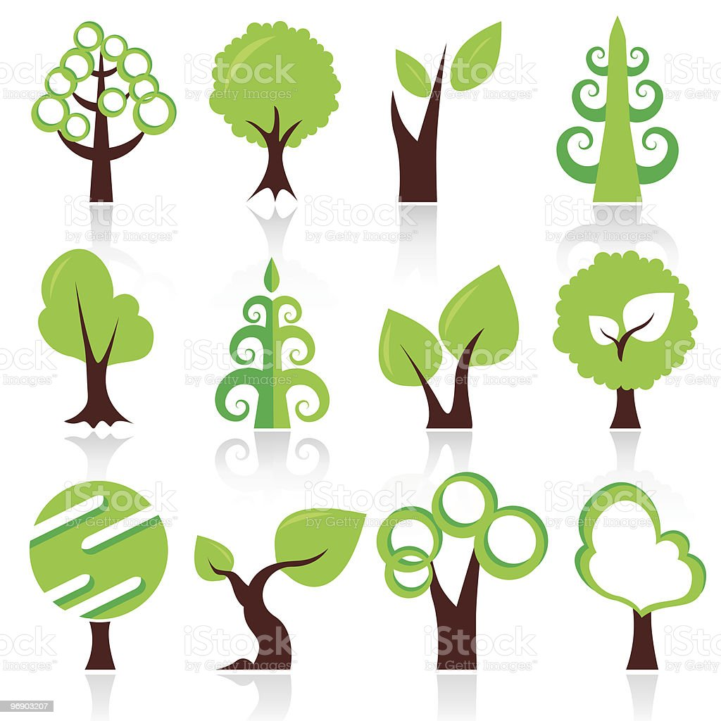 design trees royalty-free design trees stock vector art & more images of botany