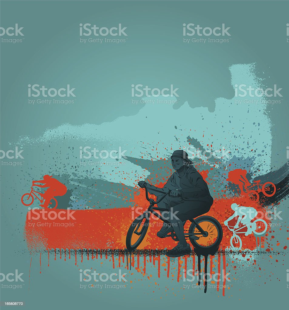 BMX design royalty-free bmx design stock vector art & more images of abstract