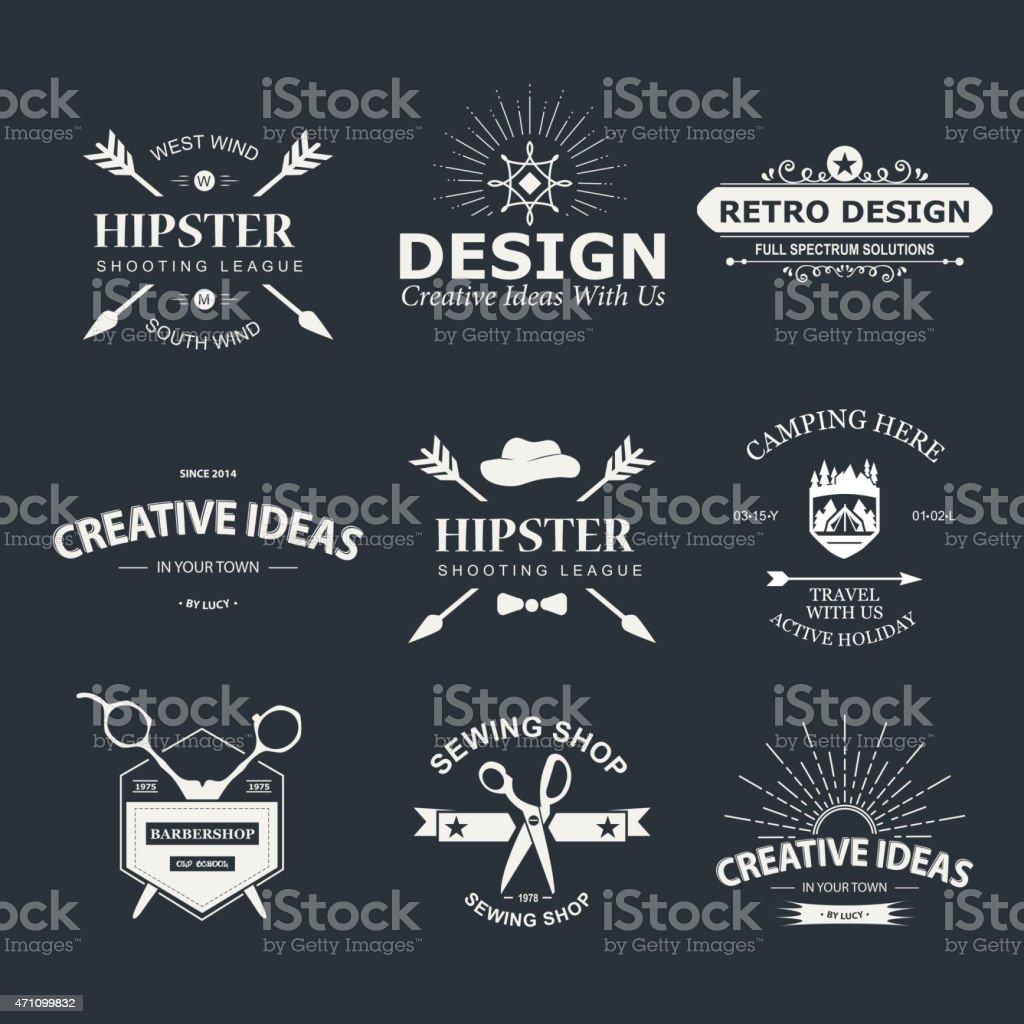 Le Design - Illustration vectorielle