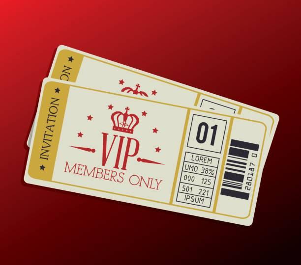 Diseño VIP - ilustración de arte vectorial