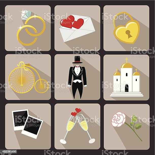 Design wedding icons for web and mobilevintage vector vector id488390495?b=1&k=6&m=488390495&s=612x612&h=g1c9vehj5y4w9hgv2kgozhzdvibkkw h hrhh57ggaw=