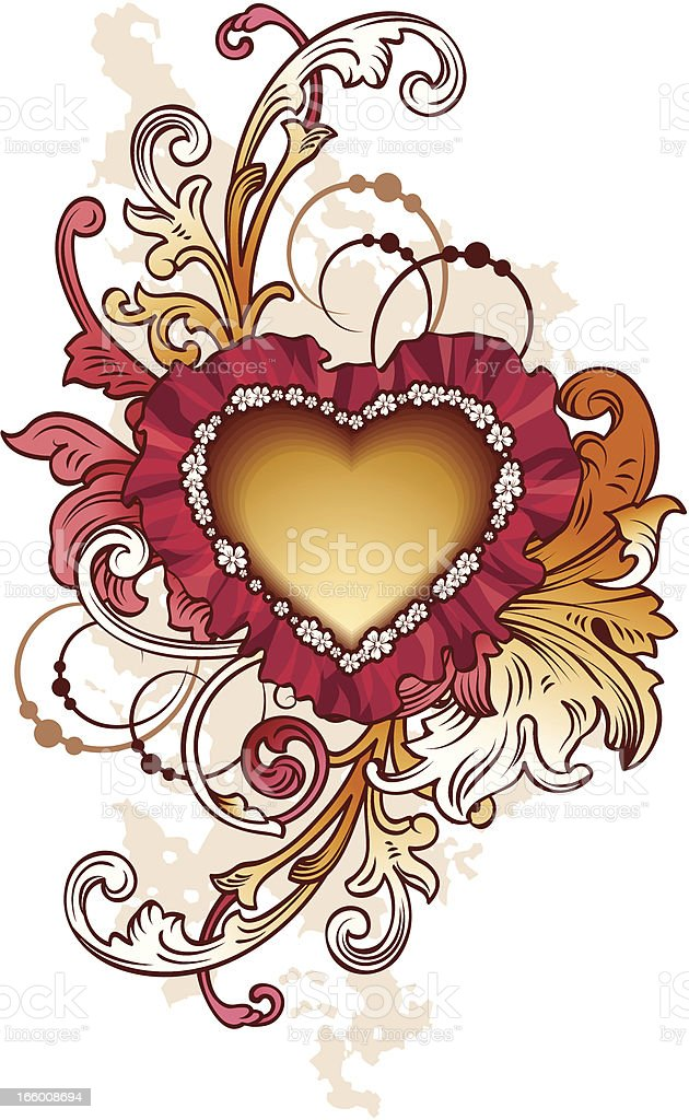 Design with heart royalty-free design with heart stock vector art & more images of art and craft