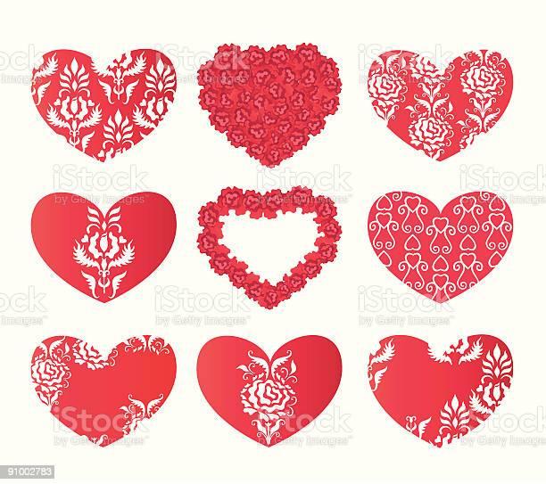 Design with hearts and flowers vector id91002783?b=1&k=6&m=91002783&s=612x612&h=73tahlg1l6tgri yj jpfwdkzukhyzq20i9hhvtuqdc=