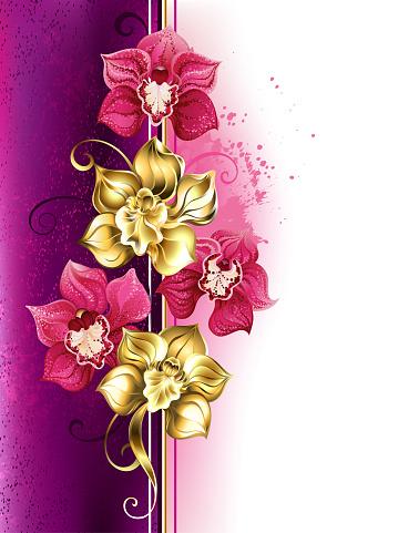 Diseño con orquídeas