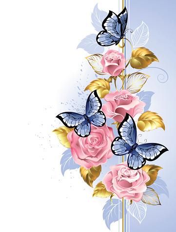 Diseño con rosas