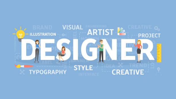 デザイナーの概念図。 - 旅行代理店点のイラスト素材/クリップアート素材/マンガ素材/アイコン素材
