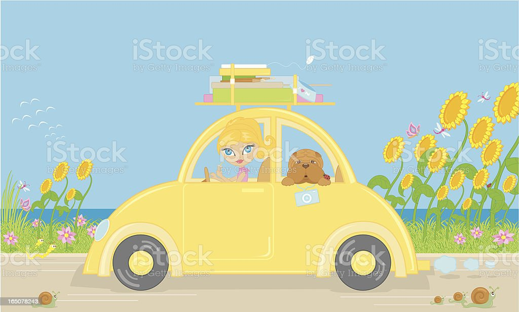Designer on vacation royalty-free designer on vacation stock vector art & more images of activity